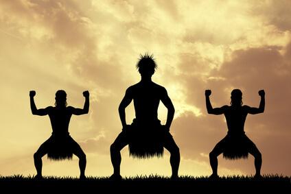Tanz der Maori