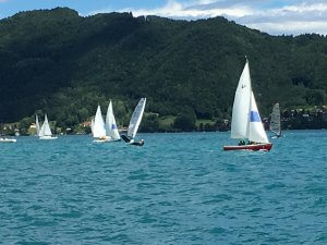 Segelboote am See