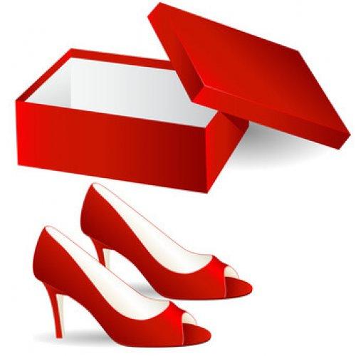 Rote Schuhe