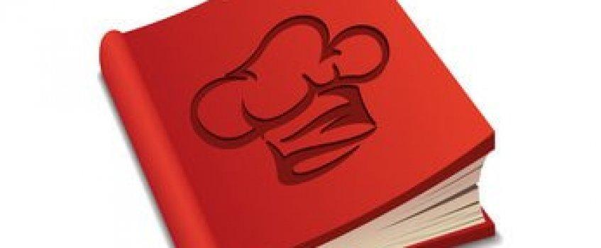 Kochbuch rot